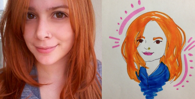redhaired portrait