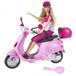 Barbie Pink Moped