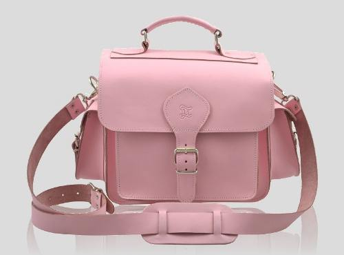 coggles pink bag camera
