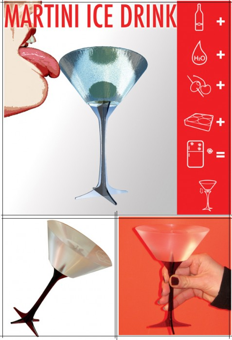 martini-ice-drink-design