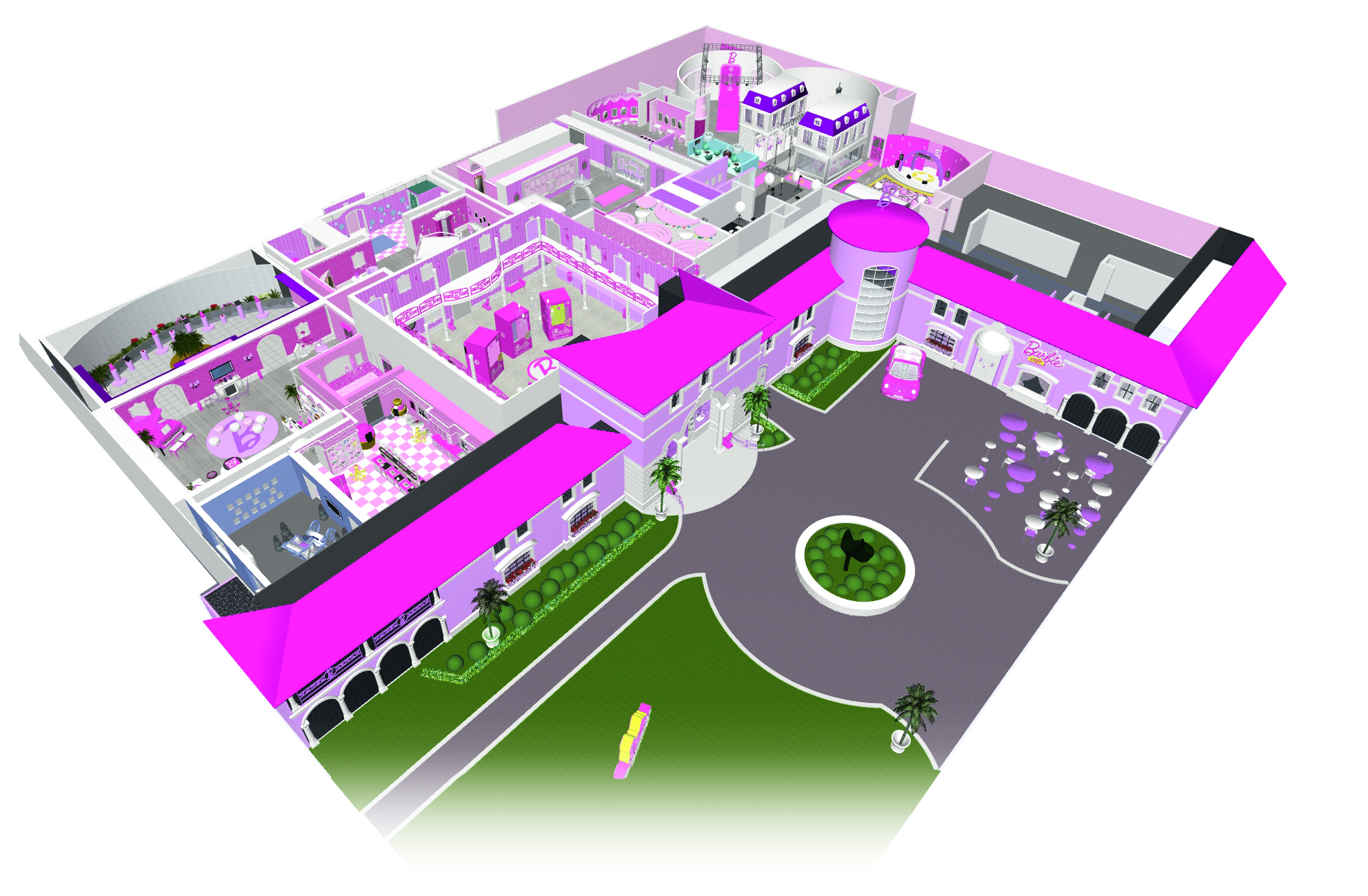 Zara Stone » Blog Archive » barbie dreamhouse layout